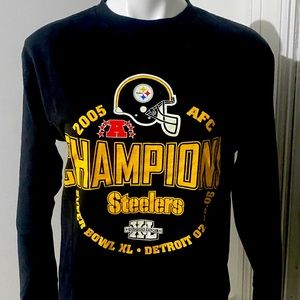 Pittsburgh Steelers Super Bowl XL long sleeve T